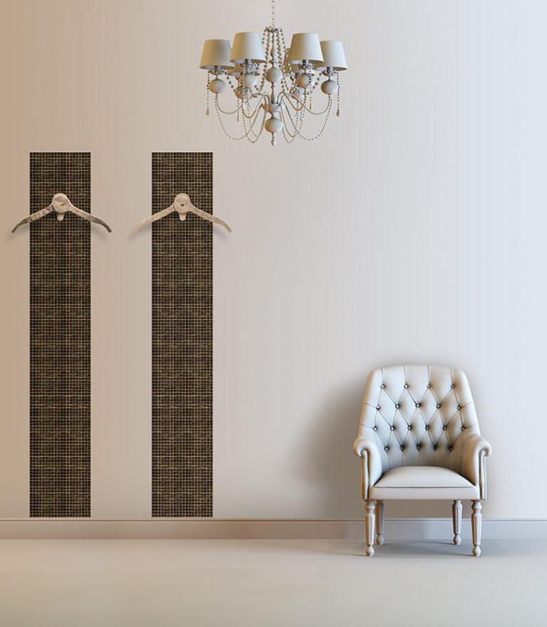 Appendiabiti da parete per salotto