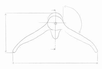 appendiabiti design - bozzetto