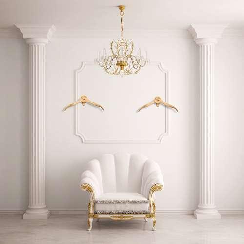 Classic room - appendiabiti di lusso