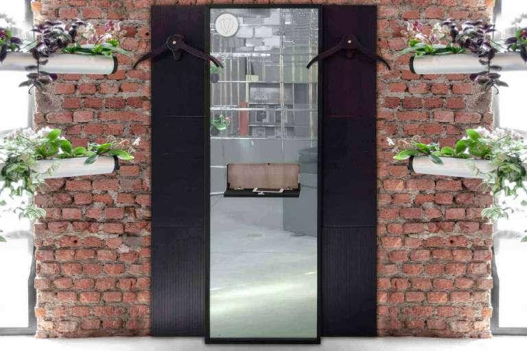 Specchio moderno per camera da letto canaletto
