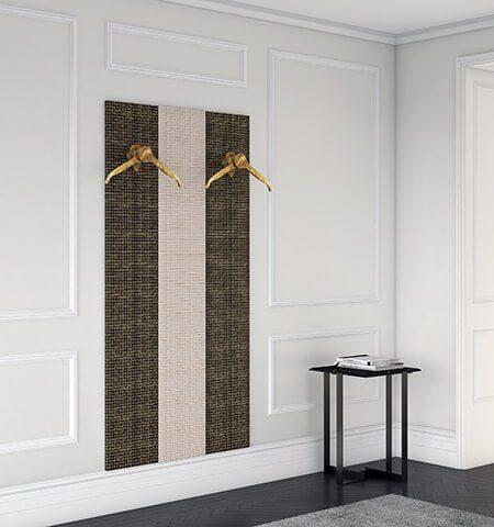Appendiabiti, pannelli e complementi d'arredo di lusso